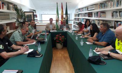 AionSur cañadaderosal-junta-local-seguridad-400x240 Cañada Rosal organiza el dispositivo de seguridad para las fiestas patronales Sierra Sur