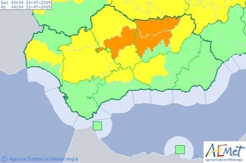 AionSur calor-1 Las temperaturas superarán mañana los 40 grados en Sevilla Sevilla Sociedad