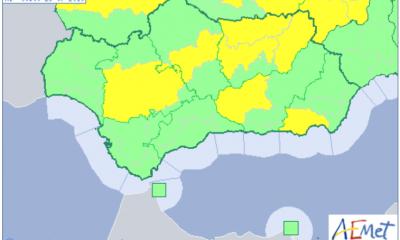 AionSur calor-mapa-400x240 Activados para hoy avisos por calor en cinco provincias andaluzas Andalucía Sociedad