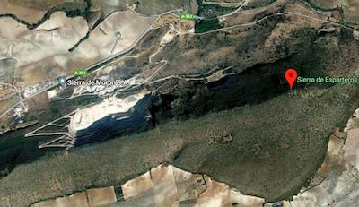 AionSur canteras-400x231 El TSJA admite el recurso para que no se sigan explotando las canteras de la sierra de Esparteros, en Morón Economía Morón de la Frontera