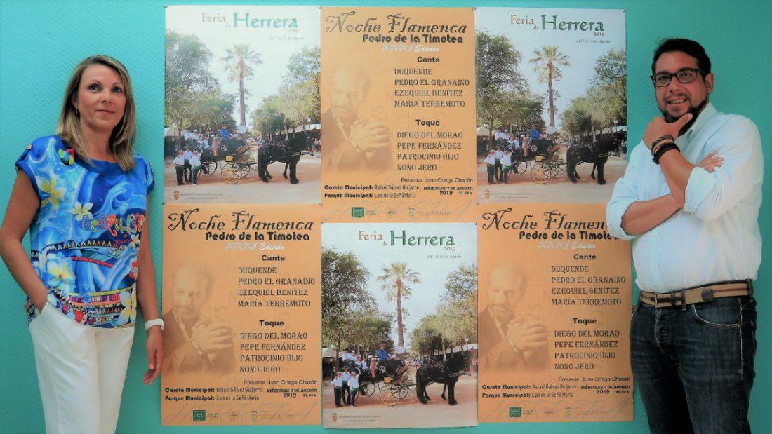 AionSur cartel-feria-Herrera Salen a la luz los carteles de la Feria y la Noche Flamenca de Herrera Cultura Herrera