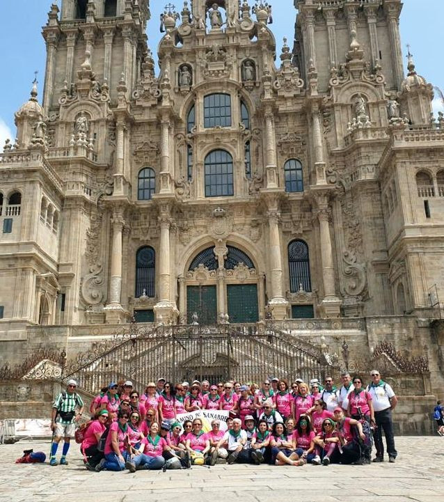 AionSur chicas-rosas Cuarta Ruta Jacobea para las 'Chicas Rosas' de Patología Mamaria de Valme Hospitales Salud