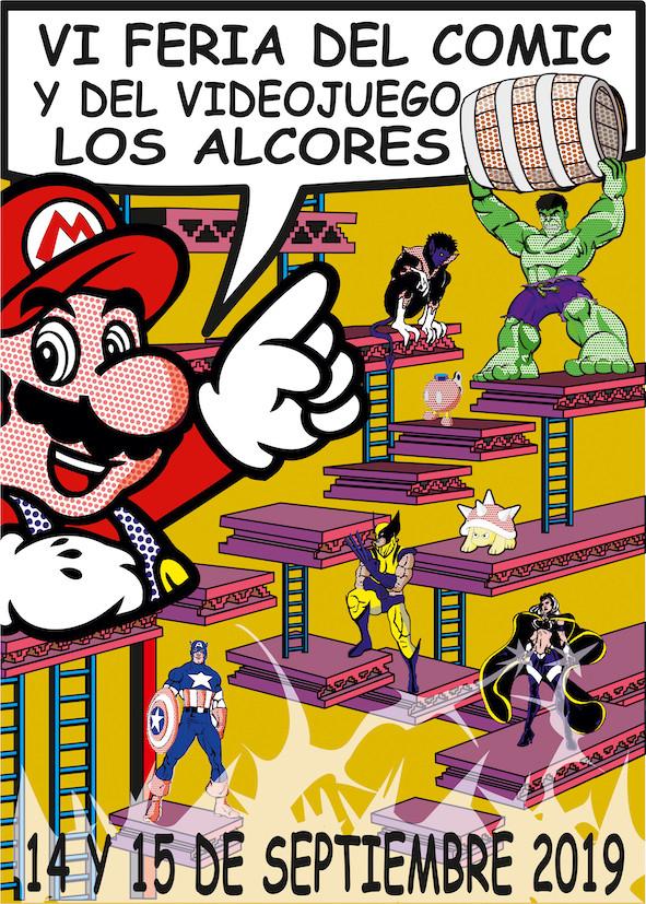 AionSur comic-mairena Mairena del Alcor volverá a ser epicentro nacional del cómic y el vídeojuego Cultura Mairena del Alcor