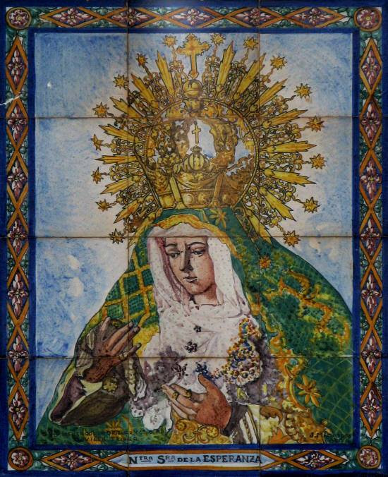 AionSur macarena Roban un retablo de La Macarena custodiado en un edificio de Alcalá de Guadaíra Alcalá de Guadaíra Sucesos