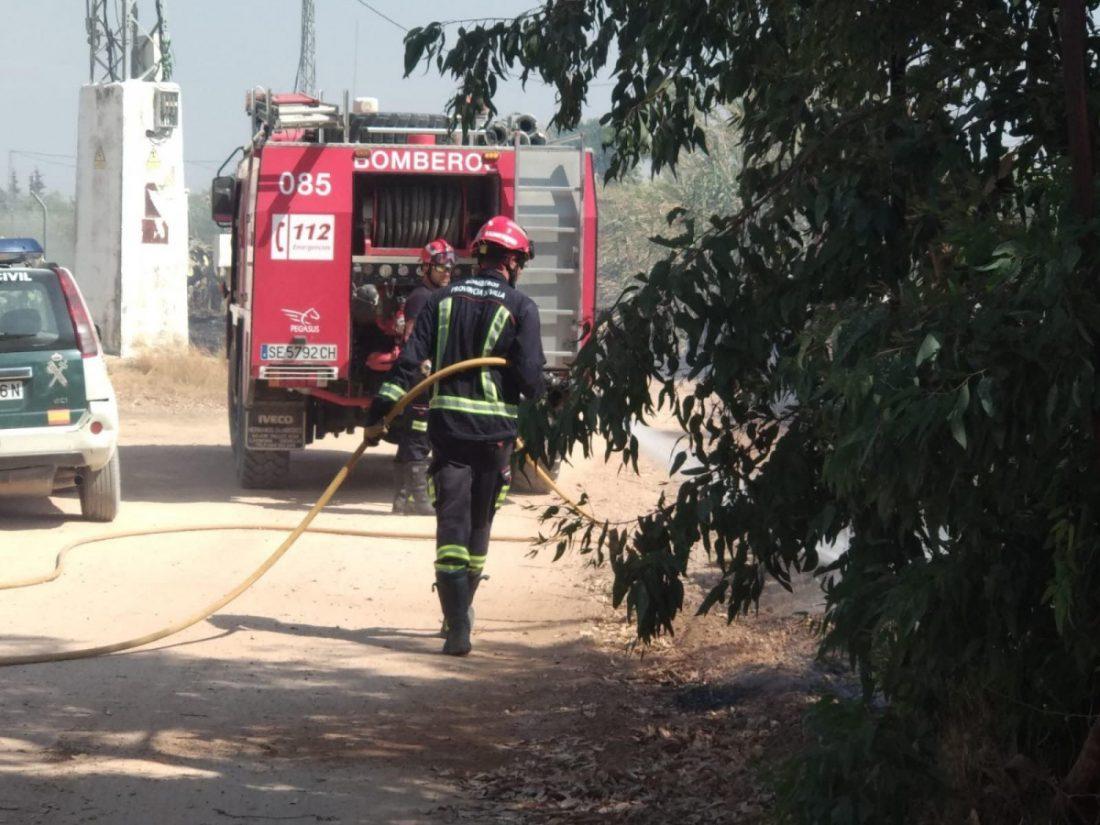 AionSur policía-Arahal-incendios Extinguido un incendio que ha afectado a varias parcelas en Llano Verde (Arahal) Arahal Sucesos