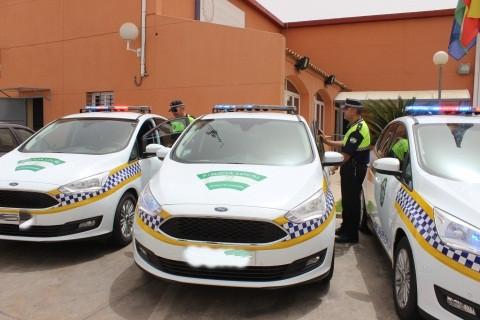 AionSur policia-local-de-alcala Detenido en Alcalá un conductor por chocar con varias señales de tráfico y agredir a un agente Alcalá de Guadaíra Sucesos
