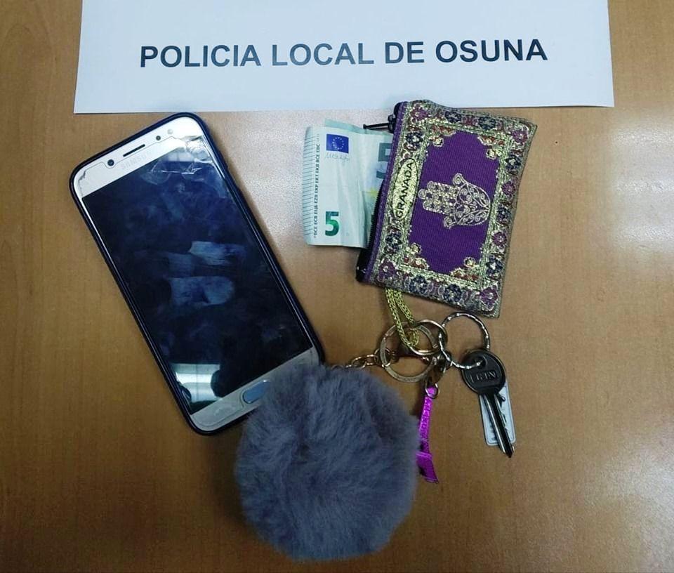 AionSur robo-Osuna Recuperado en Osuna lo robado a dos menores en la piscina municipal Osuna Sucesos