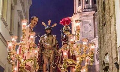 AionSur 68243271_961801107495096_1529406337635581952_n-compressor-400x240 La Banda de Jesús Nazareno de Arahal acompañará al Cristo del Ecce-Homo de Cádiz Arahal Semana Santa