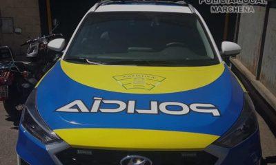 AionSur 68676383_412816726107102_9142351528969895936_n-compressor-400x240 Nuevo vehículo policial para Marchena financiado con el Plan Supera Marchena