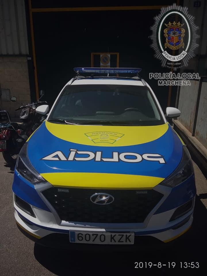 AionSur 68676383_412816726107102_9142351528969895936_n-compressor Nuevo vehículo policial para Marchena financiado con el Plan Supera Marchena