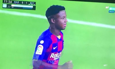 AionSur Ansu-Fati-Tele-400x240 Ansu Fati, el niño que quiso ser futbolista en Herrera y acabó en el Barça Deportes Herrera