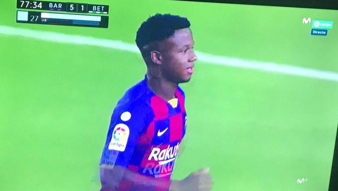 AionSur Ansu-Fati-Tele Ansu Fati, el niño que quiso ser futbolista en Herrera y acabó en el Barça Deportes Herrera
