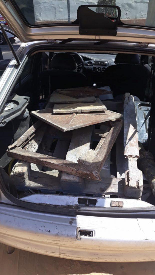 AionSur Arquetas-robo Dos detenidos en Alcalá de Guadaíra por robar arquetas de hierro Alcalá de Guadaíra Sucesos