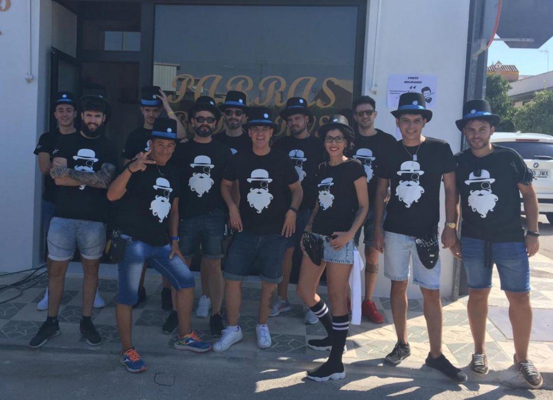 AionSur Barberos-Herrera-1 Herrera se llena de barberos solidarios por una buena causa Herrera Sociedad