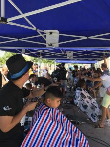 AionSur Barberos-Herrera-2-225x300 Herrera se llena de barberos solidarios por una buena causa Herrera Sociedad