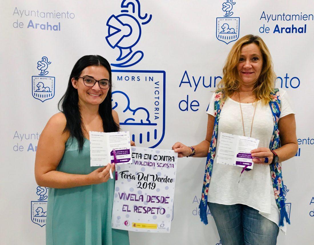 AionSur IMG-2178-compressor La campaña sobre la violencia sexista se traslada a la Feria de Arahal Arahal Feria del Verdeo