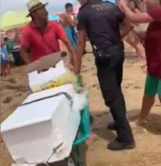 """AionSur Policia-232x240 Habla el policía apuñalado en Punta Umbría: """"El vídeo me pone la carne de gallina"""" Huelva Sucesos"""