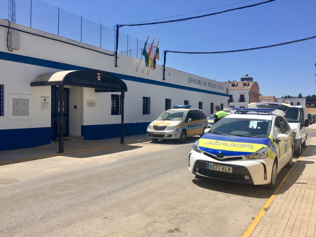 AionSur Policia-Puebla-cazalla Muere un hombre de 50 años herido por arma de fuego en La Puebla de Cazalla La Puebla de Cazalla Sucesos  destacado