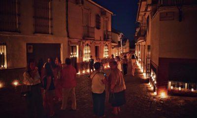 AionSur Velas-Gerena-2-400x240 Centenares de velas iluminan la noche de Gerena para celebrar el día de La Soledad Gerena Sociedad