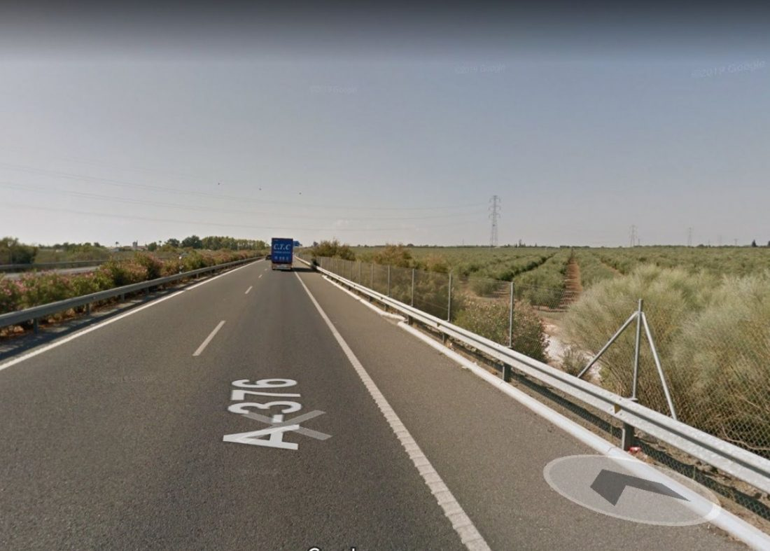AionSur carretera-compressor Un fallecido en Alcalá de Guadaíra que conducía una furgoneta robada Alcalá de Guadaíra Sucesos  destacado