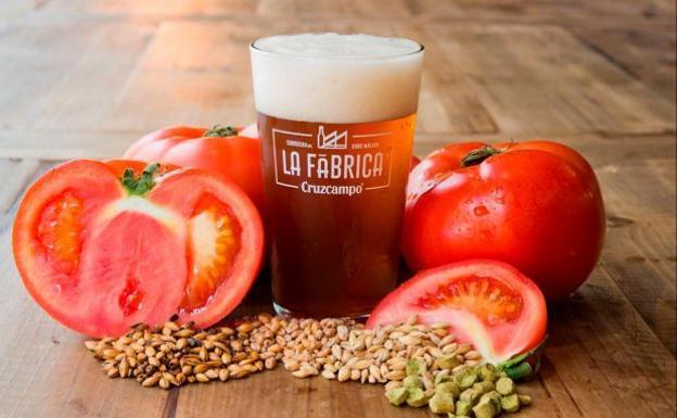 AionSur cerveza-gazpacho Cruzcampo crea una cerveza con sabor a gazpacho Economía Málaga