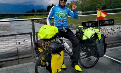 AionSur chico-ciclista-arahal-400x240 La hazaña de un arahalense: más de 8.000 kilómetros en bici por 13 países europeos Arahal Deportes  destacado