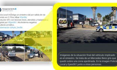 AionSur emergencias-400x240 El perfil de Twitter de Emergencias Sevilla se abre a personas con discapacidad visual Sevilla Sociedad