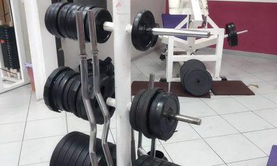 AionSur gimnasio-400x240 El misterioso robo de pesas en un gimnasio para que alguien se haga uno en su casa Huelva Sucesos