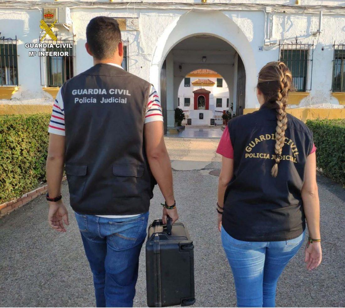 AionSur guardia-civil-robo Detenido en Santiponce por varios robos en un hotel de Isla Cristina Huelva Sevilla Sucesos