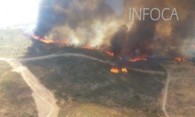 AionSur incendio-castillo-guardas-400x240 Infoca trabaja en extinguir el incendio de El Madroño ya sin medios aéreos Incendios Forestales Sucesos