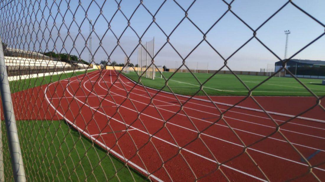 AionSur pista-atletismo-Estepa Atletas de la comarca probarán la nueva pista de atletismo de Marchena Deportes Marchena