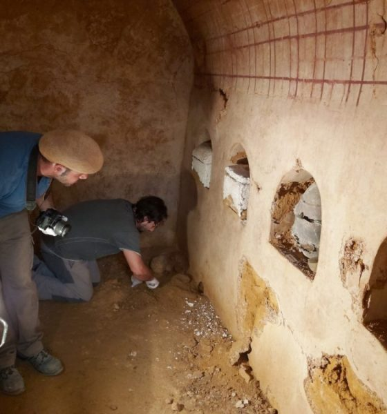 "AionSur tumba-romana-1-Carmona-560x600 La cámara funeraria hallada en Carmona ""revelará datos muy interesantes"" Carmona Sociedad"