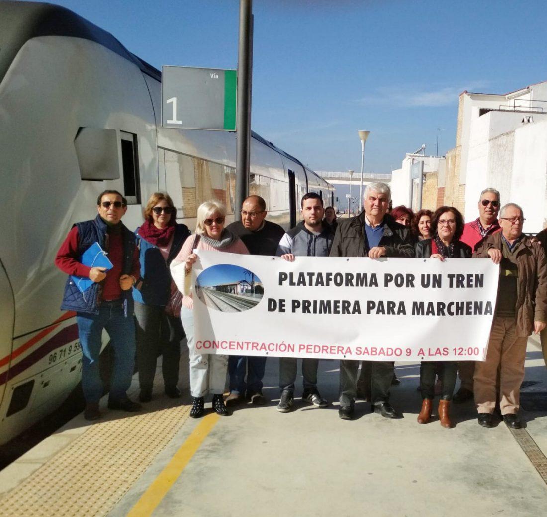 AionSur 10bdcff0-8e41-4735-8b23-e2a731f95727-compressor Pedrera vuelve a convocar concentración para pedir más paradas de los trenes Sierra Sur