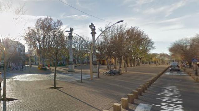 AionSur Alameda-de-Hercules Tres detenidos acusados de intentar raptar a una joven en Sevilla Sevilla Sucesos