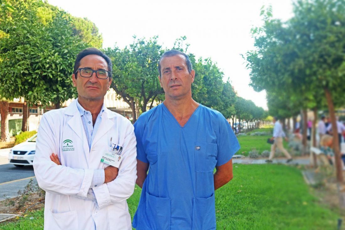 AionSur Benedicto-Crespo-y-Miguel-Ruiz-Veguilla-compressor El Virgen del Rocío participa en un estudio nacional para prevenir el suicidio Salud Sevilla