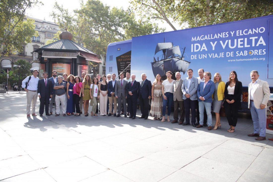 AionSur Bus-prodetur El bus de la Diputación sale de gira por Andalucía, Extremadura y Faro Provincia Sociedad