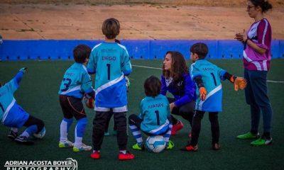 AionSur Curso-de-Porteros-Sara-Serrat_02-400x240 La guardameta del Sevilla FC Sara Serrat vuelve a formar a niños en el deporte Deportes Huelva Sevilla