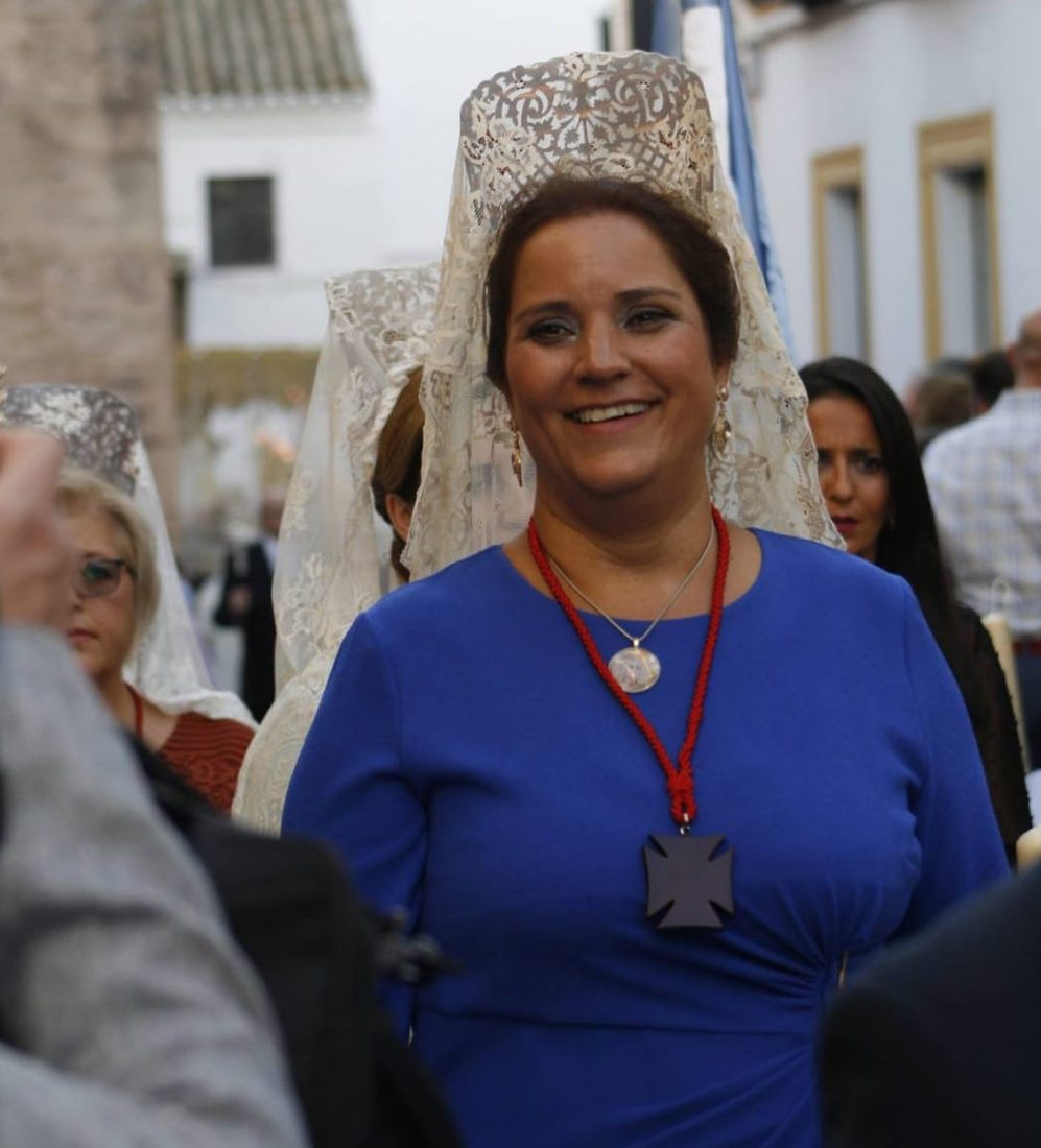 AionSur Maruja-Vilches-1 Elisa Morejón, la primera mujer al frente de una hermandad de Marchena Marchena Semana Santa destacado