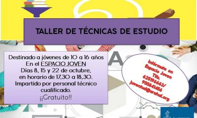 AionSur TALLER-DE-TÉCNICAS-DE-ESTUDIO-cartel-compressor-400x240 Taller de Técnicas de estudio en el Espacio Joven de Arahal Agenda Arahal