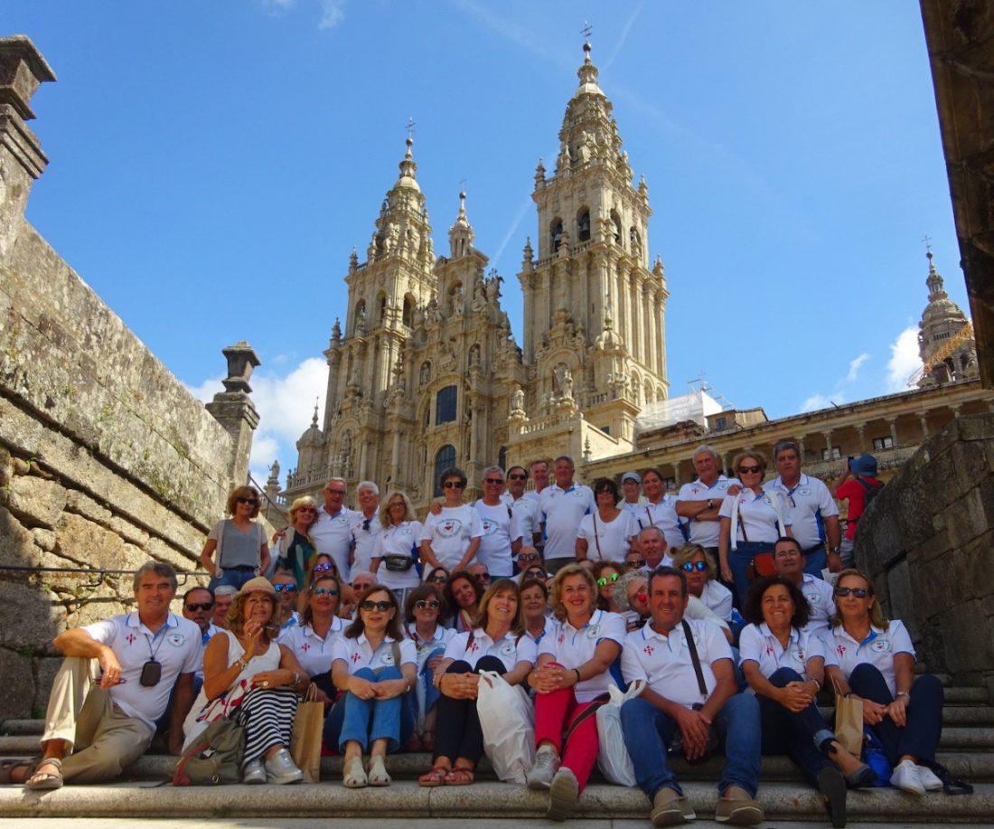 AionSur camino-santiago-valme Diez años de Camino de Santiago para el hospital de Valme Salud Sevilla