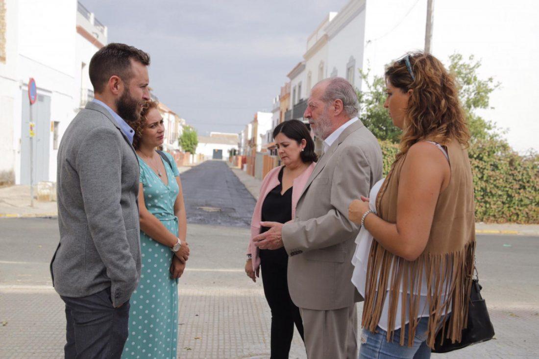 AionSur coronil-visita Visita institucional del presidente de la Diputación a El Coronil El Coronil Provincia