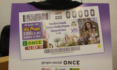 AionSur: Noticias de Sevilla, sus Comarcas y Andalucía cupon-Mairena-400x240 La patrona de Mairena del Alcor protagoniza el cupón de la ONCE Mairena del Alcor Sociedad