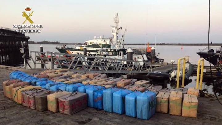 AionSur drogas Incautados más de 11.000 kilos de hachís en Andalucía en cinco días Andalucía Sucesos