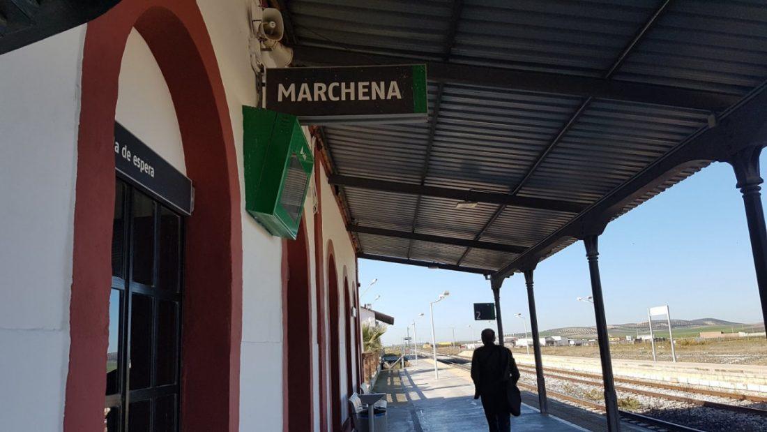 AionSur estacion-tren-Marchena El PP reclama información sobre recortes en los trenes de Osuna, Marchena y Pedrera Provincia Sociedad