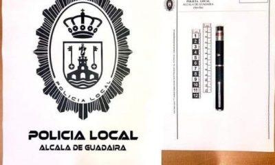 AionSur puntero-láser-policía-compressor-400x240 Intervenido en Alcalá un puntero láser con el que unos jóvenes deslumbraban a vehículos Alcalá de Guadaíra Sucesos