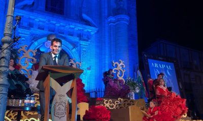 """AionSur rancio-pregon-400x240 Julio Muñoz: """"Con las aceitunas se puede explicar la vida"""" Arahal Feria del Verdeo destacado"""