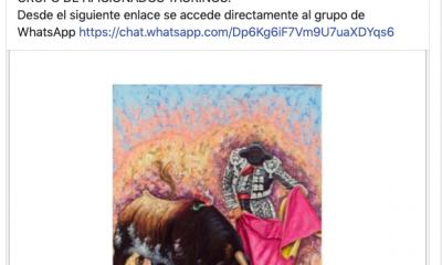 AionSur toros-grupo-paradas-400x240 Polémica en Paradas por apoyar el Ayuntamiento a un grupo de taurinos Paradas Sociedad Toros