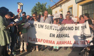 AionSur tren-manifa-400x240 Adelante pide en Diputación que se rectifique la distribución de trenes Provincia Sociedad