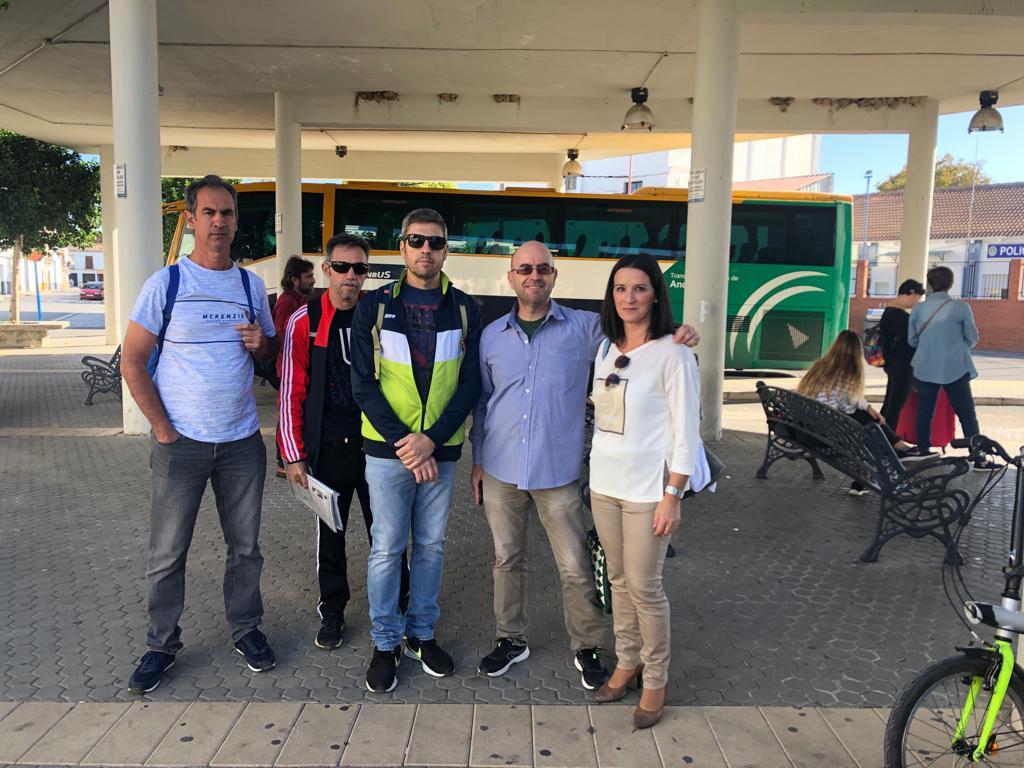 AionSur Autobuses-quejas-1 La reducción de frecuencias de autocares de Campiña y Sierra Sur provoca quejas de los usuarios Provincia Sociedad