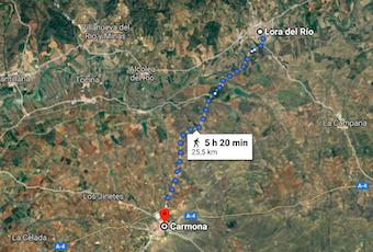 AionSur Carmona-Lora El cuerpo de la mujer hallado en Carmona estaba a casi dos kilómetros del pueblo Carmona Sucesos